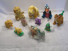 Lot of Land before time puppets plush toys figures Little foot Cera Petrie USED
