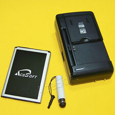 3in1 High Power 2470mAh Spare Battery USB/AC Charger Pen f LG Treasure LTE L52VL