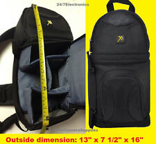 SLING BACKPACK BAG CASE fit CAMERA NIKON SLR D7100 D300 D2Xs P520 P510 P500 P90