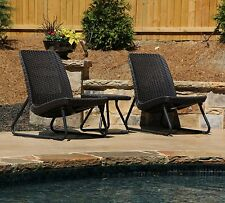Bistro Table And Chairs 3 Piece Patio Chairs Set Of 2 Outdoor Dining Lawn Garden
