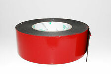45mmx10M Black Strong  Black Adhesive Double Sided Foam Tape Car Trim Plate A150