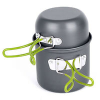 Cookware Outdoor Pan Camping Hiking Backpacking Cooking Picnic Bowl Pot BE