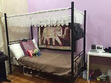 King Single Bed (four poster)