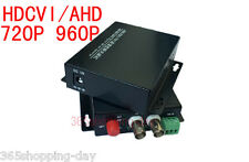 1 pairs 2 CH HDCVI / AHD Video data Fiber Converters with RS485 FC/Single mode
