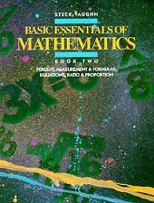 Basic Essentials of Math: Percent Measurement and Formulas, Equations,-ExLibrary