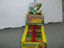 1X 1988 Topps Dinosaurs Attack PACK : Fresh From Box Bulk Lot available T-Rex!