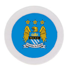 Manchester City Fc Round Car Tax Disc Holder  - Official Merchandise