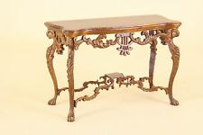 "Dollhouse Miniature ""FANTASY LYRE"" CONSOLE TABLE  3554-NWN  BESPAQ DIRECT"