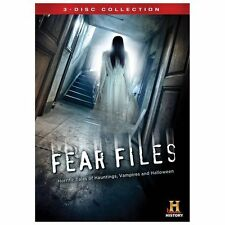 Fear Files (DVD, 2013, 3-Disc Set)