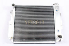 1987-1995 1997-2002 Jeep Aluminum Radiator Wrangler TJ YJ 3 Row/V8 Conversion