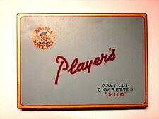 PLAYERS NAVY CUT TOBACCO TIN   Very Good to minus Fine Condition