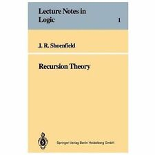 Recursion Theory (Lecture Notes in Logic), Shoenfield, Joseph R., 3540570934, Bo