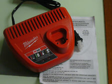 New Milwaukee 48-59-2401 Lithium Battery Charger for 12v 48-11-2401 48-11-2402