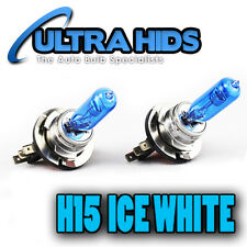 H15 BULB DRL HIGH BEAM FLASH SUPER WHITE 6000K  AUDI A5 A6 VW GOLF MK6 MK7