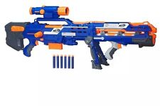 Nerf N-Strike Elite Long Shot CS-6 Blaster, Kids Indoor Outdoor Blaster Toy Gun