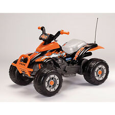 ride-on toy electric quad 12V Corral T-Rex IGOR0066 nero/arancio Peg Perego