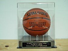 Basketball Display Case For Your Dirk Nowitzki Mavericks Autographed Basketball