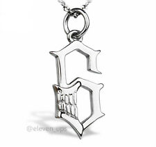 Silver Necklace Bleach Blade Grimmjow Jeagerjaques Break Face Pendant Cosplay