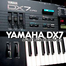 YAMAHA DX7 - Perfect Original Sound (Samples) Library on CD