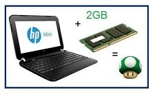 2 GB di memoria RAM UPGRADE HP Mini 200-4202sa Atom 1.6 GHz SODIMM Laptop / netbook