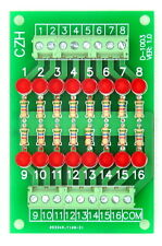 16 Channel Common Anode LED Indicator Gate Module, 24Vdc Version.