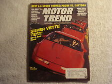 Motor Trend 1990 April Ford Probe vs Dodge Daytona Jaguar XJ6 Beretta GTZ Toyota