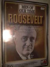 FRANKLIN DELANO ROOSEVELT,MEN OF OUR TIME ROOSEVELT,DVD,BRAND NEW,Documentary