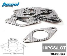 10PC WASTEGATE ALUMINUM GRAPHITE GASKET TURBO/CHARGER/MANIFOLD/PIPE