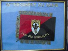 FANION club des lieutenants 19e régiment du génie
