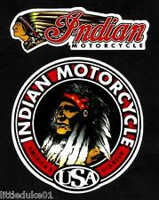 INDIAN MOTORCYCLES WORKSHOP GAS GARAGE SERVICE STATION 2 x STICKER DECAL CHOPPER