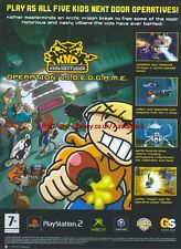 "KND ""Kids Next Door"" 2006 Magazine Advert #4686"