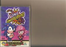 SONIC UNDERGROUND WHO DO YOU THINK YOU ARE ? DVD 10 EPISODES CARTOON HEDGEHOG