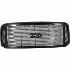 Billet Grille Black & Chrome for Ford F250SD F350 F450 Excursion