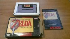 The Legend of Zelda: A Link to the Past Super Nintendo SNES complete CIB box