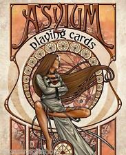 Asylum Deck Playing Cards Poker Size NPCC Custom Rare Limited Edition New Sealed