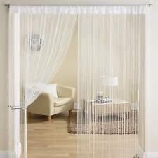 CLASSIC Stringa Frangia Pannello Divisore finestra porta di facciata continua 90x200cm Bianco Nuovo