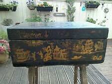ANTIQUE ORIENTAL WRITING SLOPE/BOX