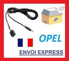 Cable auxiliaire adaptateur mp3 Opel Astra H (à partir de 2004) CD30/CD30 MP3