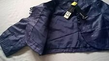 Papaya ladies leather jacket,sizeXL,plum,new witg tag