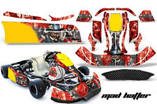 AMR Racing Graphics CRG NA2 Kart Wrap New Age Sticker Decal Kit MAD HATTER SLV