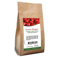 Red Pepper Dried Flakes 500g Sweet  /Roasted, diced, and then dried bell peppers