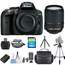 Nikon D5300 DSLR Camera with 18-140mm Lens (Black) PRO BUNDLE! Brand New!!