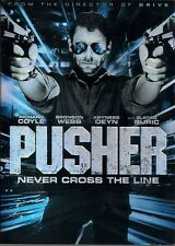 PUSHER (DVD, 2013) WITH SLEEVE