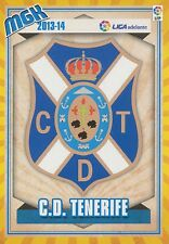 N°434 ESCUDO BADGE ECUSSON SCUDETTO # CD.TENERIFE CARD PANINI MGK LIGA 2014
