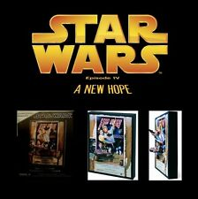 Star Wars A NEW HOPE (Style D) Movie Poster Sculpture Statue Code 3 Collectible