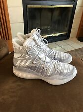 Adidas Crazy Explosive Men's Size 13 White Grey $160 Authentic Basketball Shoes