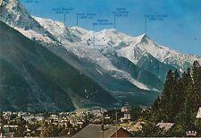 BF19601 vue d ensemble de la statio chamonix mont blanc france  front/back image