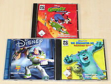 3 PC SPIELE SAMMLUNG DISNEY GOOFY SKATEBOARDING TOY STORY 2 ACTION MONSTER AG