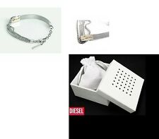 DIESEL WOMENS STAINLESS STEEL BRACELET DX0341