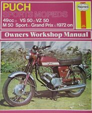 Haynes Manual 0318 - Puch Sports Mopeds 49cc (72 - 78) Workshop/Service Manual